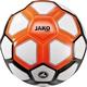Trainingsball Striker MS weiß/neonorange/schwarz Vorderansicht