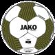 Trainingsball Striker 2.0 weiß/schwarz/soft yellow Vorderansicht