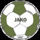 Trainingsball Striker 2.0 weiß/khaki/neongrün Vorderansicht