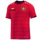 Bayer 04 Leverkusen T-Shirt Prestige rot/schwarz ohne Sponsoren Vorderansicht