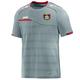 Bayer 04 Leverkusen T-Shirt Prestige grau o. Sponsor Vorderansicht