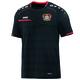 Bayer 04 Leverkusen T-Shirt Prestige schwarz/rot ohne Sponsoren Vorderansicht