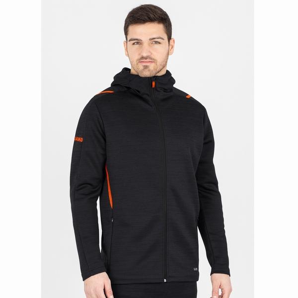 Hooded leisure jacket Challenge