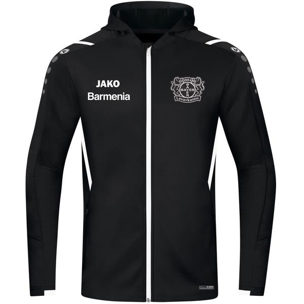 Bayer 04 Trainingsjacke Challenge mit Kapuze
