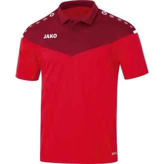 Jako Fußball Polo Striker 2.0 Herren Poloshirt Polohemd grau weiß