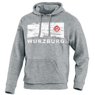 Würzburger Kickers Kapuzensweat Skyline