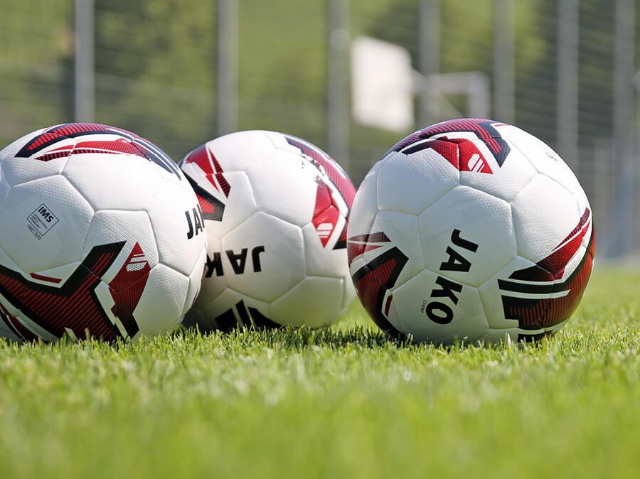Footballs with JAKO logo